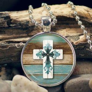 Jewelry - Necklace- New- Christian Cross Pendant
